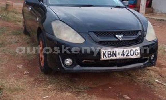 Buy Used Toyota Caldina Black Car in Ol Kalou in Central Kenya