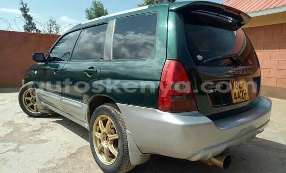 Buy Used Subaru Forester Green Car in Ol Kalou in Central Kenya