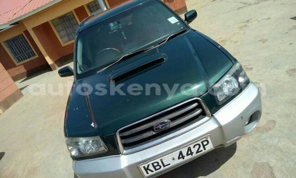 Buy Used Subaru Forester Green Car in Ol Kalou in Central Kenya