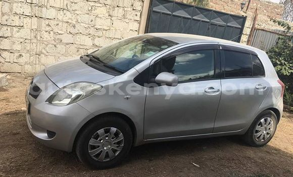 Buy Used Toyota Vitz Silver Car in Ol Kalou in Central Kenya