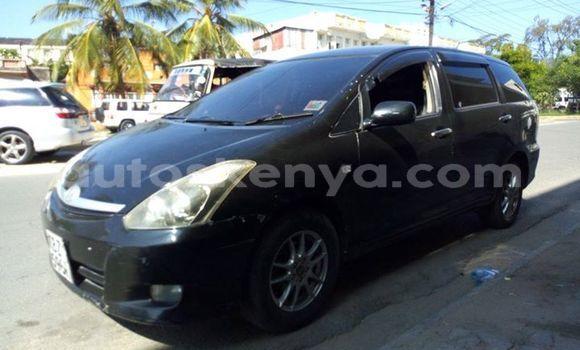Oofamaa Toyota Wish Black Makiinaa iti Ol Kalou keessatti Central Kenya keessatti