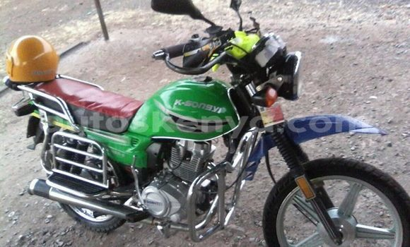 Buy Used K–Songyi SY125S Green Bike in Kiserian in Nairobi