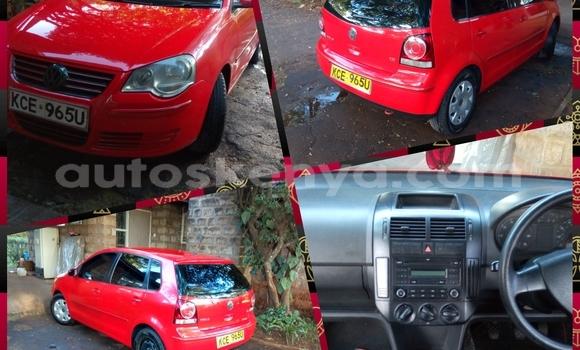 Buy Used Volkswagen Polo Red Car in Nairobi in Nairobi
