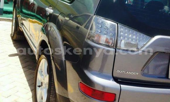Buy Used Mitsubishi Outlander Silver Car in Nairobi in Nairobi