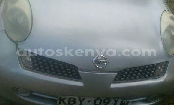 Buy Used Nissan March Silver Car in Nairobi in Nairobi
