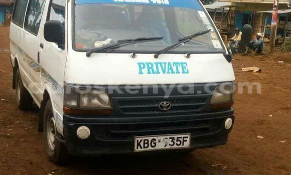 Buy Used Toyota Shark White Car in Nairobi in Nairobi