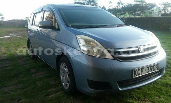 Buy Used Toyota ISIS Blue Car in Nairobi in Nairobi