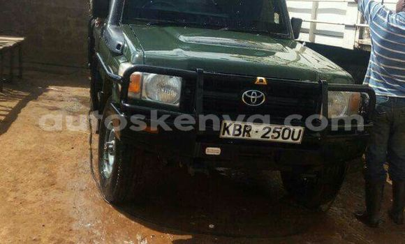 Buy Used Toyota Land Cruiser Green Car in Nairobi in Nairobi