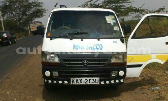 Buy Used Toyota Shark White Car in Nairobi in Nairobi