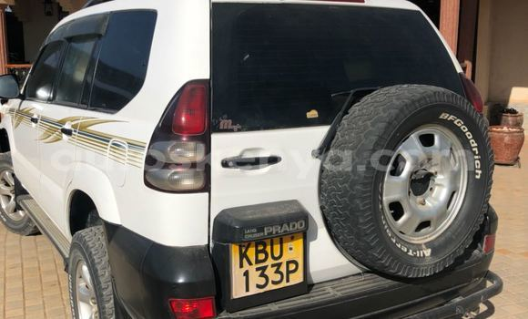 Buy Used Toyota Prado White Car in Nairobi in Nairobi