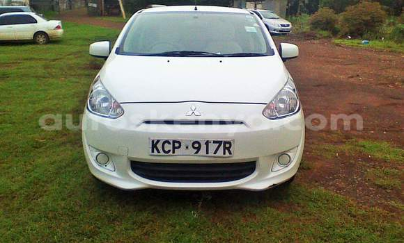 Buy Used Mitsubishi Mirage White Car in Nairobi in Nairobi