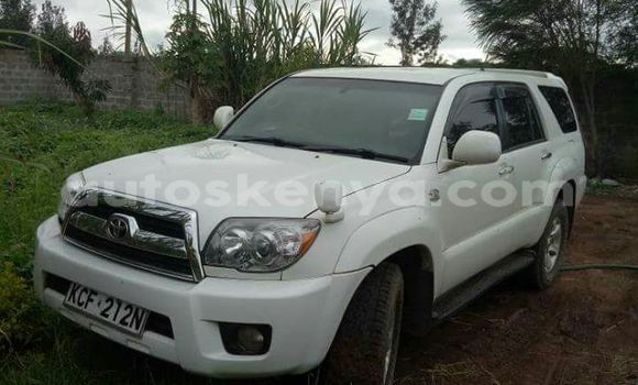 Buy Used Toyota Surf White Car in Nairobi in Nairobi