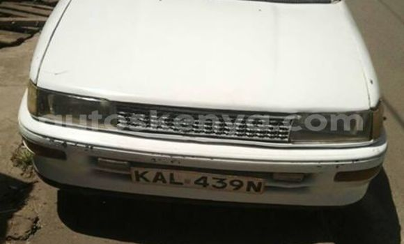 Buy Used Toyota AE91 White Car in Nairobi in Nairobi