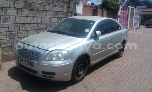 Buy Used Toyota Avensis Silver Car in Nairobi in Nairobi
