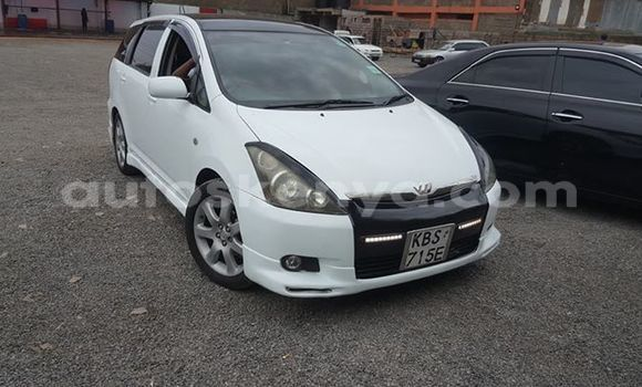 Buy Used Toyota Wish White Car in Nairobi in Nairobi