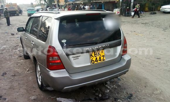 Buy Used Subaru Forester Silver Car in Kitengela in Nairobi