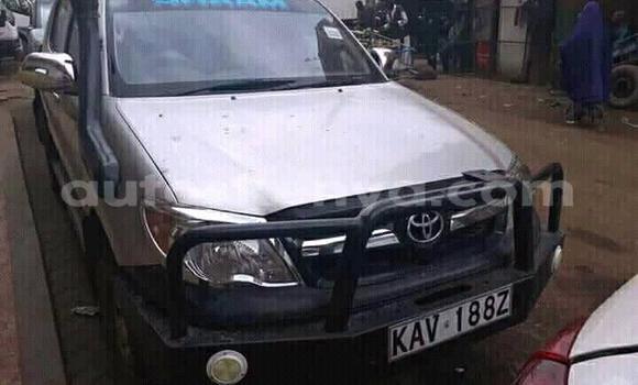 Buy Used Toyota Hilux Silver Car in Nairobi in Nairobi