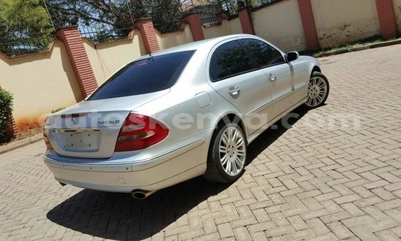 Buy Used Mercedes Benz E-Class Silver Car in Nairobi in Nairobi