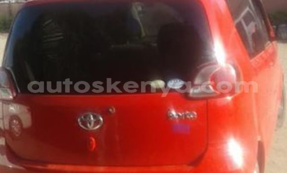 Buy Used Toyota Porte Red Car in Nairobi in Nairobi