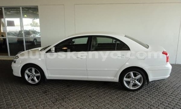 Buy Used Toyota Avensis White Car in Mombasa in Coastal Kenya
