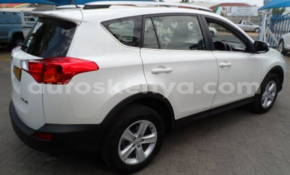 Buy Used Toyota RAV4 White Car in Kaloleni in Coast