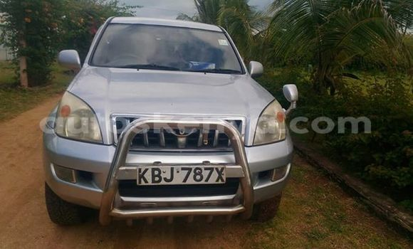 Buy Used Toyota Land Cruiser Prado Silver Car in Nairobi in Nairobi