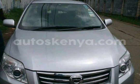 Buy Used Toyota Axio Silver Car in Nairobi in Nairobi