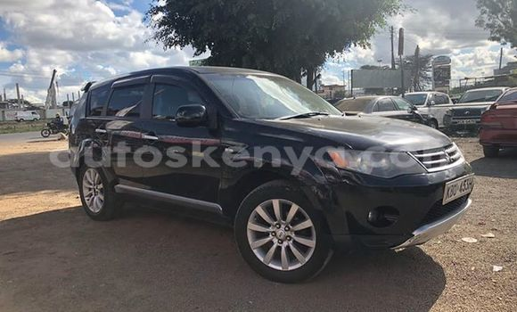 Buy Used Mitsubishi Outlander Black Car in Nairobi in Nairobi
