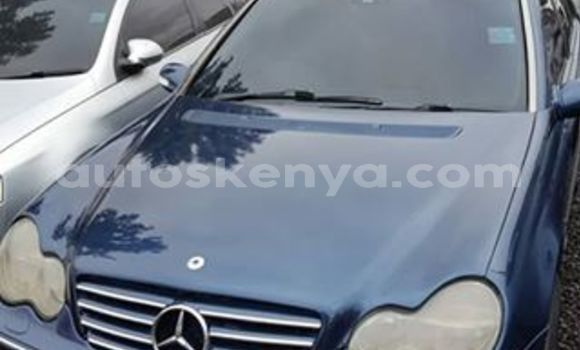 Buy Used Mercedes Benz C-Class Blue Car in Nairobi in Nairobi
