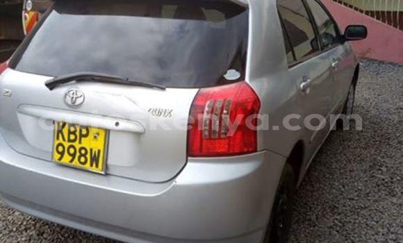 Buy Used Toyota Runx Silver Car in Nairobi in Nairobi