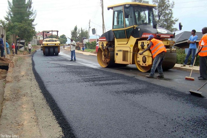 Road construction in jos plateau state